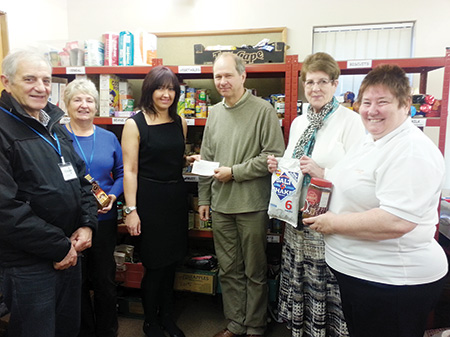Company Donates Holiday Pay To Foodbank South West Durham News