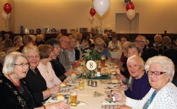 Members of Days In Days Out (DIDO) celebrate their annual dinner dance at the Masonic Hall in Ferryhill. The club has 112 members and a further 65 on the waiting list to join.
