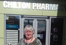 Healthwatch Authorised Representative, Claire Cowell spoke to service users at Chilton Pharmacy.