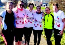 Shildon Running Club members took part in the nationwide 'My Poppy Run' 5k run in aid of the Royal British Legion.