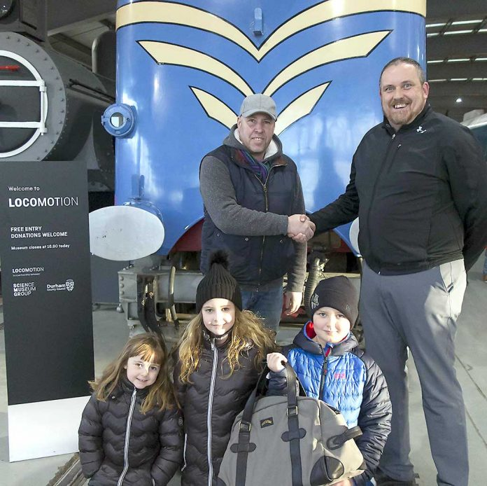 Locomotion welcomes two and a half millionth visitor