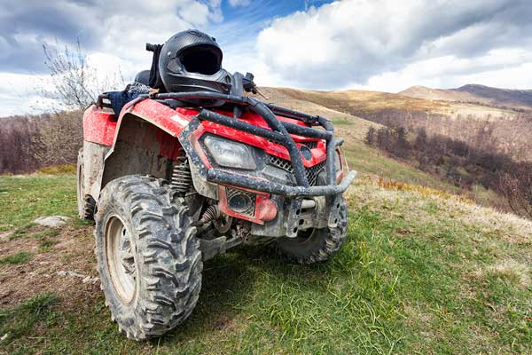 Off road quad bike