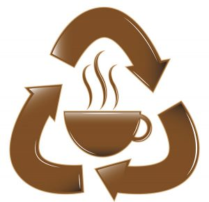 recycle coffee sign