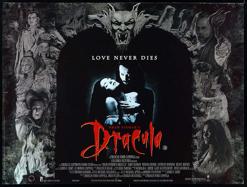 bram stokers dracula francis ford coppola movie poster