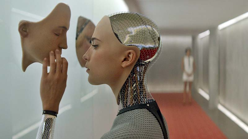 A scene from Ex Machina