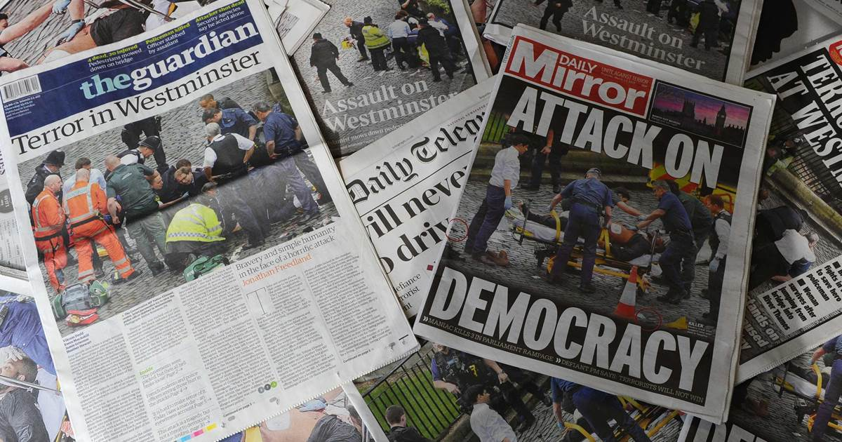 media coverage of london terror attacks
