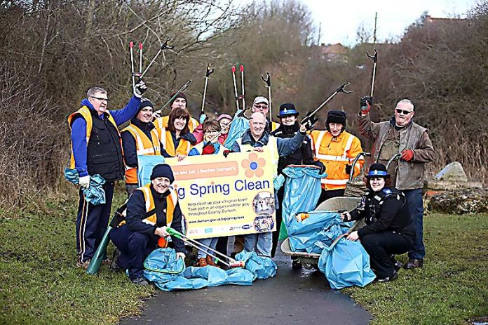 Big Spring Clean up County Durham