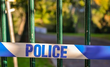 Pupils were allowed home early from local schools after worried parents responded to a terror threat.