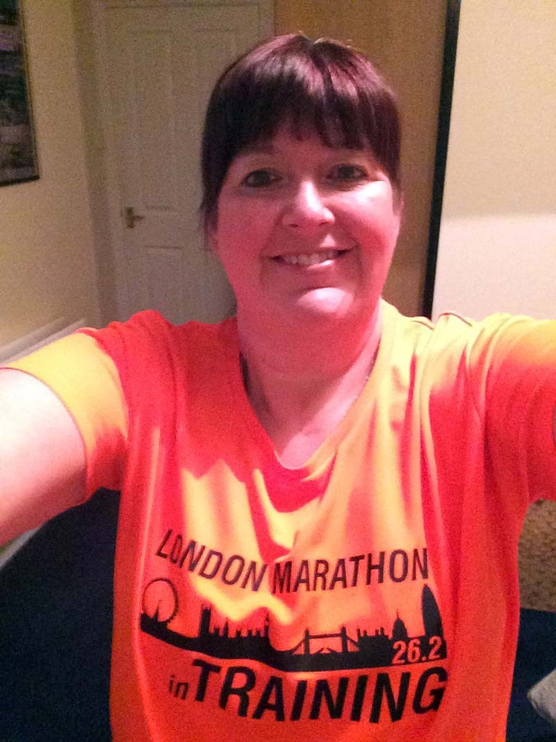 Joanne Illingworth is running the London Marathon.