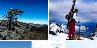 Mountaineer Sarah has recently surpassed a 70 summit milestone in her mountaineering career