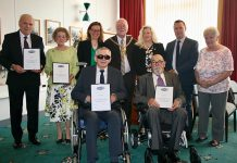 Volunteer committee recognised for longstanding service