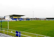 Heritage Park, home of Bishop Auckland FC