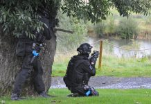 Emergency services held a full-scale terrorism exercise in the grounds of Bishop Auckland's Kynren show at the end of last month.
