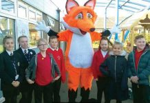Pupils and students from FBEC, Dean Bank and Ferryhill Station primary schools helped Fred the Fox launch Fuel for School at Cleves Cross Primary School.