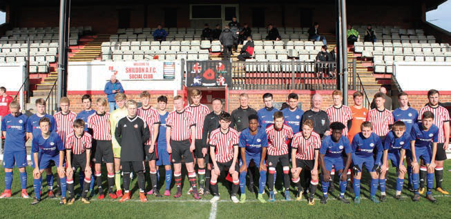 Sunderland AFC FOL Shildon hosted Chelsea in the NYFL League Cup and sent the youth side of the Premier League champions crashing out of the competition.