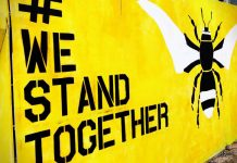 Surviving Manchester: We Stand Together mural