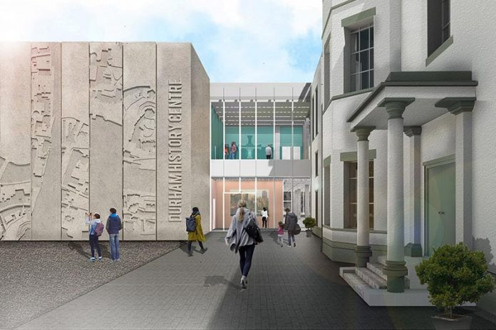 An artist's impression of the entrance to the new centre.
