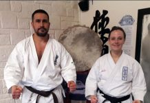 Reza Azhdari-Nia and Lindsay Young are heading to the Kyokushin Full Contact Spanish Championships.