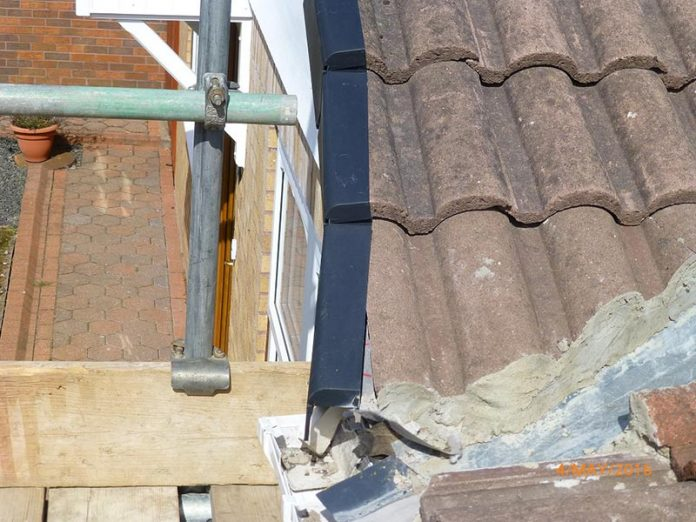 Poor work that led to the prosecution of roofing business.