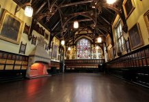The Great Hall at Durham Town Hall