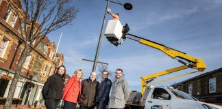 Free public wi-fi has been installed in Bishop Auckland and Stanley town centres