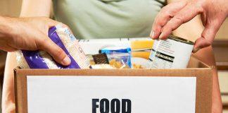 Food bank donation box
