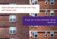 Durham Constabulary is supporting the Crimestoppers 'Speak up' domestic abuse campaign.