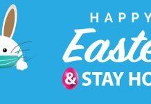 Happy Easter and stay at home.