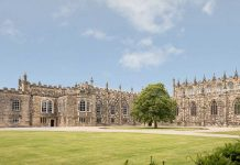 Auckland Castle, Bishop Auckland. Photograph by House of Hues, courtesy of The Auckland Project.