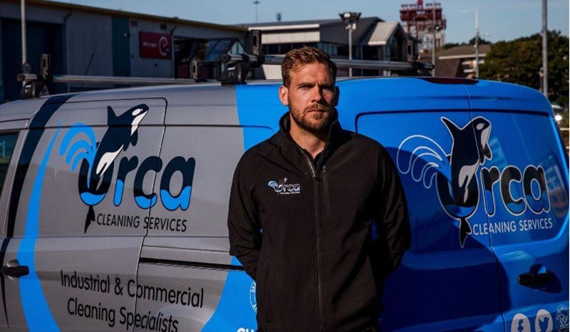Steven Holmes of Orca Cleaning Services