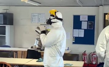 Orca Cleaning Services' fogging system