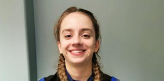 PSCO Grace Umpelby is excited to start work with Durham Constabulary in Spennymoor.