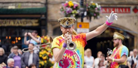Mr Wilson's Second Liners are always a big hit at BRASS and are preparing exclusive content for the online festival