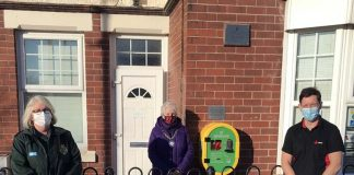 A defibrillator has been insatalled on the outside of Chilton Town Council's offices.